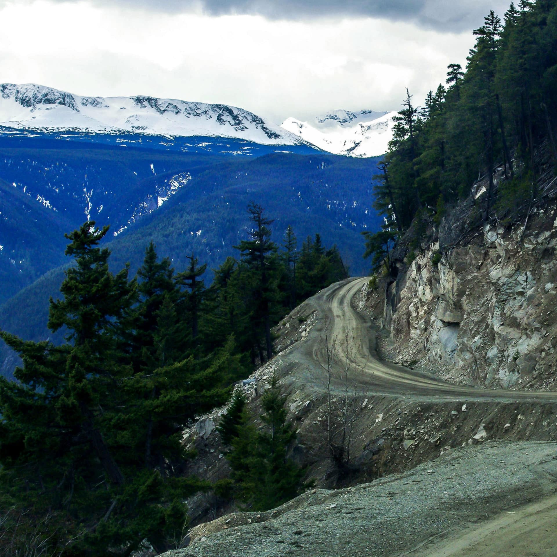 Vancovuer Island has some of the best hidden dirt roads in Canada for adventure motorcycle riding and tours