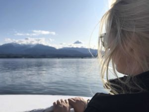 Riding from BC to Baja starts with a ferry ride from Victoria to Port Angeles