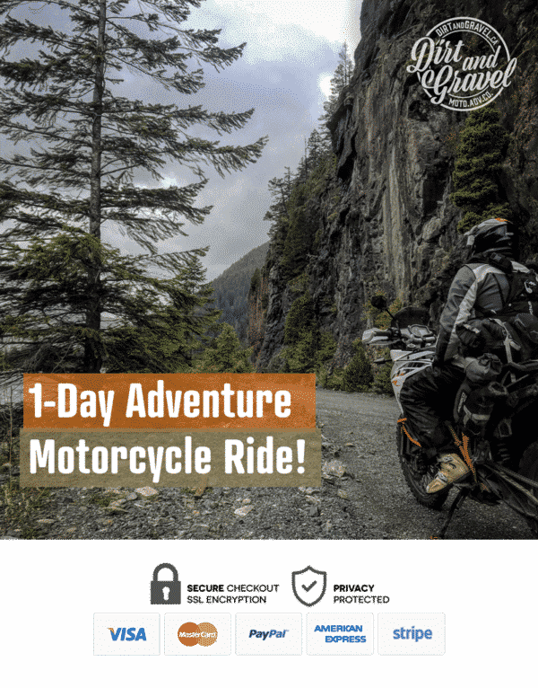 1-Day adventure motorcycle ride in British Columbia