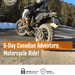 6-Day adventure motorcycle ride in British Columbia