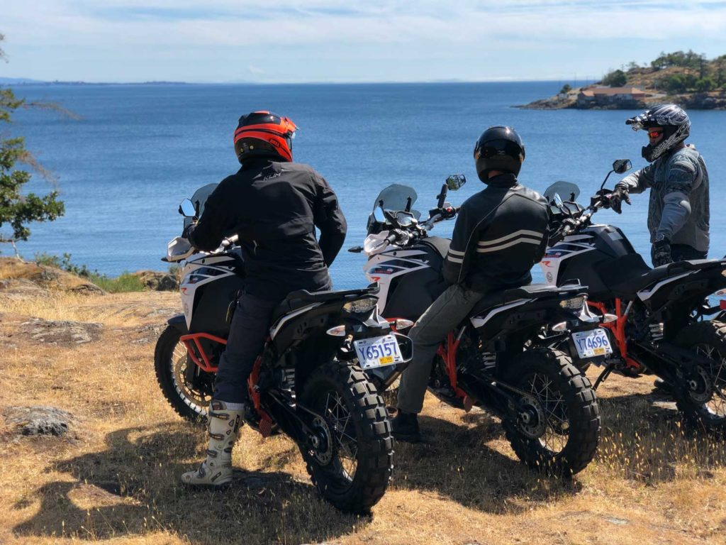 Guided off-road adventure bike rides, tours and rentals rentals in Vancouver Island and throughout British Columbia